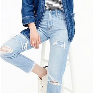 J. Crew Jeans - J.Crew Point Sur High-Rise Retro Jean